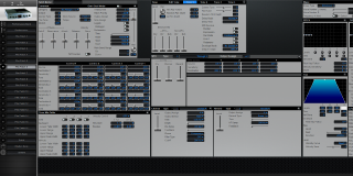 Click to display the Roland XV-2020 Pfm Patch 6 Editor
