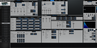 Click to display the Roland XV-2020 Pfm Patch 9 Editor