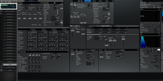 Click to display the Roland XV-3080 Patch Editor