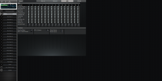 Click to display the Roland XV-3080 Performance - Effects Mode Editor