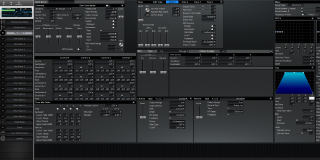 Click to display the Roland XV-3080 Pfm Patch 1 Editor