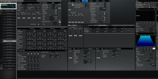 Click to display the Roland XV-3080 Pfm Patch 10 Editor