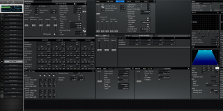 Click to display the Roland XV-3080 Pfm Patch 11 Editor