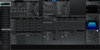 Click to display the Roland XV-3080 Pfm Patch 12 Editor