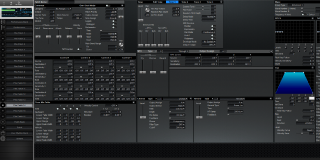 Click to display the Roland XV-3080 Pfm Patch 14 Editor