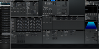 Click to display the Roland XV-3080 Pfm Patch 15 Editor