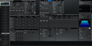 Click to display the Roland XV-3080 Pfm Patch 16 Editor