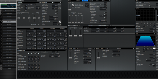 Click to display the Roland XV-3080 Pfm Patch 3 Editor