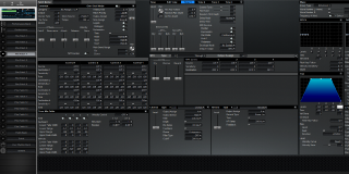 Click to display the Roland XV-3080 Pfm Patch 4 Editor