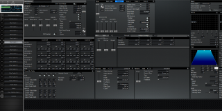 Click to display the Roland XV-3080 Pfm Patch 6 Editor