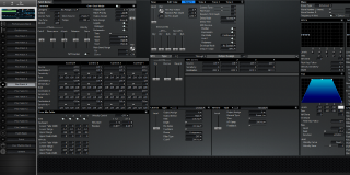 Click to display the Roland XV-3080 Pfm Patch 9 Editor