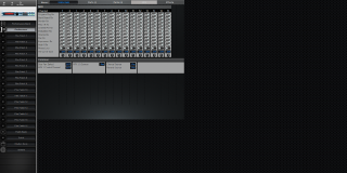 Click to display the Roland XV-5050 Performance - Effects Mode Editor