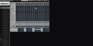 Click to display the Roland XV-5050 Performance - Parts II Mode Editor