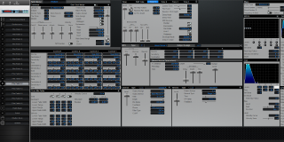 Click to display the Roland XV-5050 Pfm Patch 12 Editor