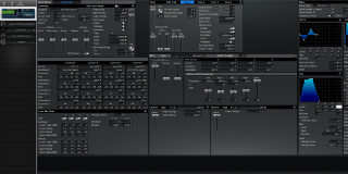 Click to display the Roland XV-5080 Patch Editor