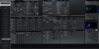 Click to display the Roland XV-88 Patch Editor