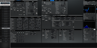 Click to display the Roland XV-88 Pfm Patch 12 Editor