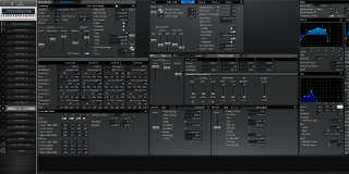 Click to display the Roland XV-88 Pfm Patch 13 Editor