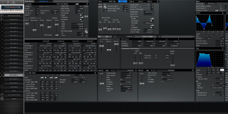 Click to display the Roland XV-88 Pfm Patch 14 Editor
