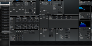 Click to display the Roland XV-88 Pfm Patch 15 Editor