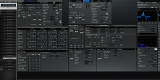 Click to display the Roland XV-88 Pfm Patch 16 Editor