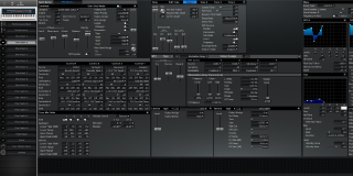 Click to display the Roland XV-88 Pfm Patch 2 Editor