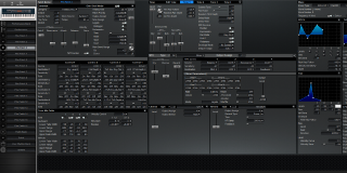 Click to display the Roland XV-88 Pfm Patch 3 Editor
