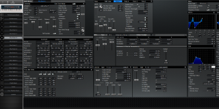 Click to display the Roland XV-88 Pfm Patch 5 Editor
