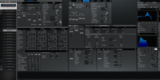 Click to display the Roland XV-88 Pfm Patch 6 Editor