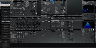 Click to display the Roland XV-88 Pfm Patch 8 Editor