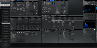 Click to display the Roland XV-88 Pfm Patch 9 Editor