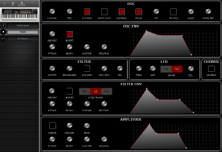 Click to display the Sequential Multitrak Patch Editor