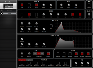 Click to display the Sequential Prophet 10 Patch Editor