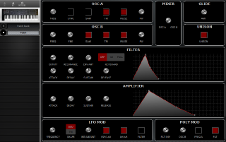 Click to display the Sequential Prophet 600 Patch Editor