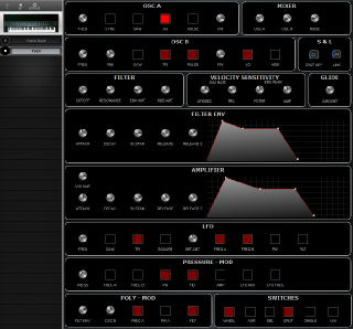 Click to display the Sequential Prophet T8 Patch Editor