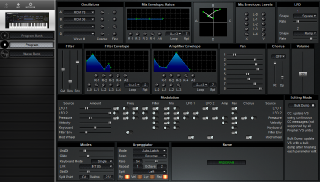 Click to display the Sequential Prophet VS Program Editor