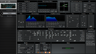 Click to display the Sequential Prophet VS Rack Program Editor
