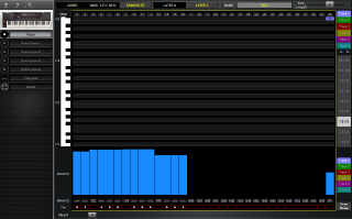 Click to display the Sequential Prophet XL Patch - Sequencer Editor