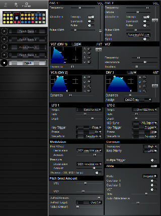 Click to display the Studio Electronics ATC-1 Patch Editor