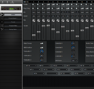 Click to display the Turtle Beach Multisound Global Editor