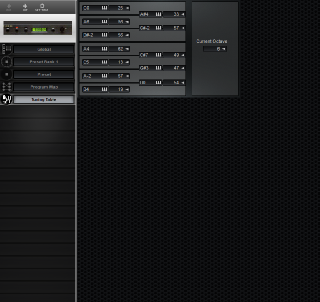 Click to display the Turtle Beach Multisound Tuning Table Editor