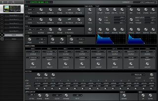 Click to display the Waldorf Pulse 2 Sound Editor