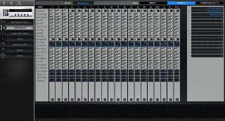 Click to display the Yamaha CS6x Performance - Common+Effects Mode Editor