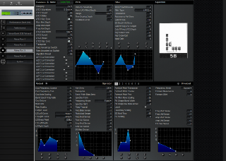 Click to display the Yamaha FS1R Voice Part 3 Editor