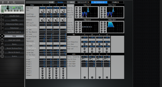 Click to display the Yamaha Motif 7 Voice - Common Mode Editor