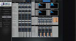 Click to display the Yamaha Motif ES8 Voice - Common Mode Editor
