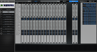 Click to display the Yamaha Motif ES Rack Multi - Common+Effects Mode Editor