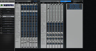 Click to display the Yamaha Motif ES Rack Performance - Common+Effects Mode Editor