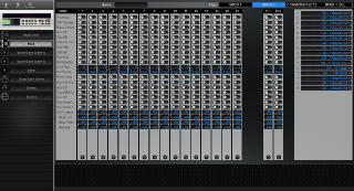 Click to display the Yamaha Motif Rack Multi - Common+Effects Mode Editor