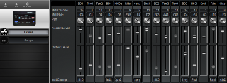 Click to display the Yamaha RX11 Drums Editor